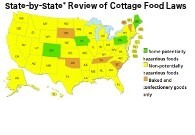 Cottage Food Map