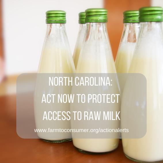 North Carolina Raw Milk